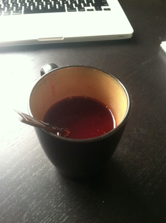 Cranberry Ginger T!