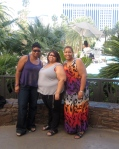 Trip to Vegas was eventful. Blogalicious DMV Ladies (Nae Carter and Taya Dunn Johnson)...Love these two.